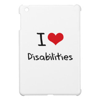I Love Disabilities Cover For The iPad Mini