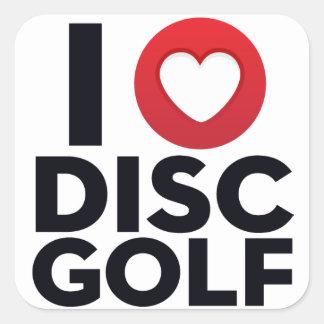 I Love Disc Golf Sticker Pack