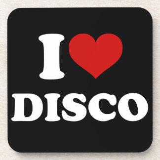 I Love Disco Coaster