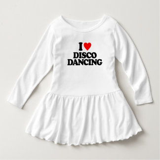 I LOVE DISCO DANCING DRESS