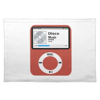 I love Disco Music Cloth Place Mat
