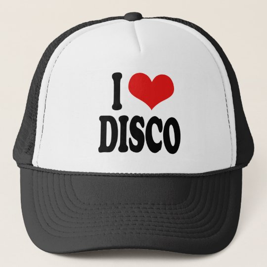 I Love Disco Trucker Hat