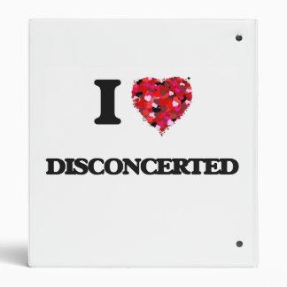 I love Disconcerted 3 Ring Binder