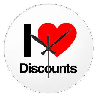 i love discounts wallclocks