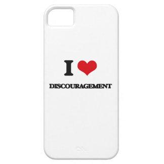 I love Discouragement iPhone 5 Cases