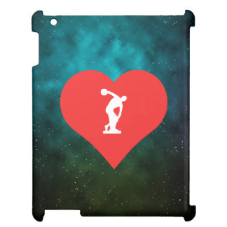 I Love Discus Throwing Cool Symbol iPad Cases