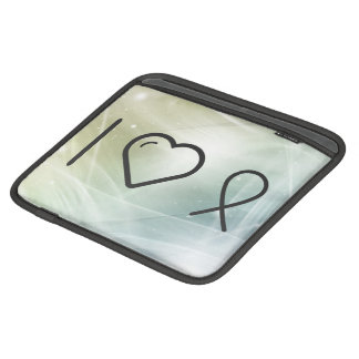 I Love Diseases iPad Sleeves