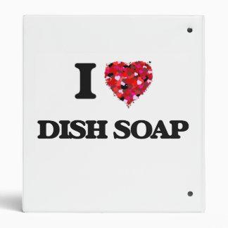 I love Dish Soap Binders