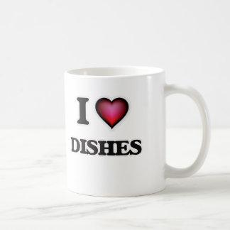 I love Dishes Coffee Mug