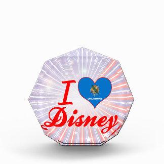 I Love Disney, Oklahoma Acrylic Award