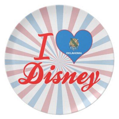 I Love Disney, Oklahoma Plates