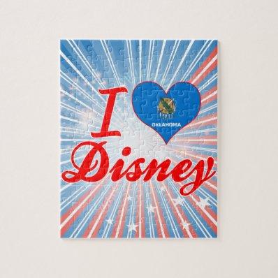 I Love Disney, Oklahoma Puzzle
