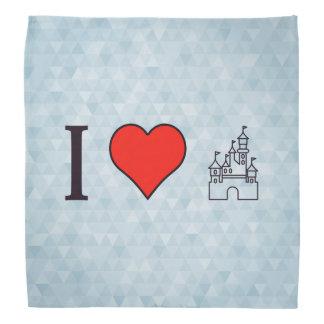 I Love Disneyland Bandana