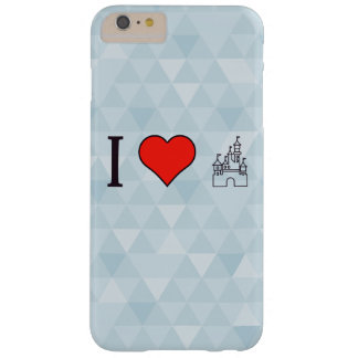 I Love Disneyland Barely There iPhone 6 Plus Case