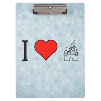 I Love Disneyland Clipboard