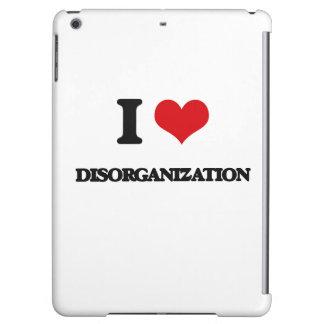 I love Disorganization iPad Air Cover