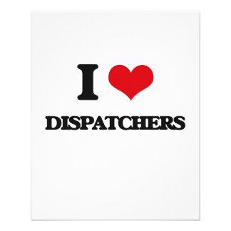 I love Dispatchers Flyer Design
