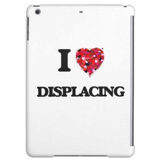 I love Displacing iPad Air Covers