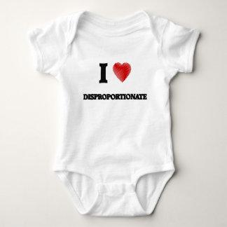 I love Disproportionate Baby Bodysuit