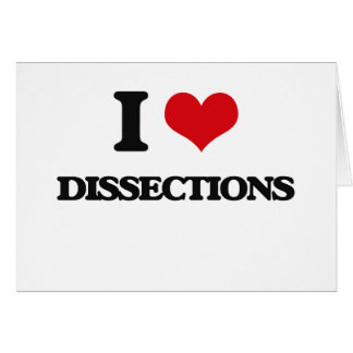 I love Dissections Cards