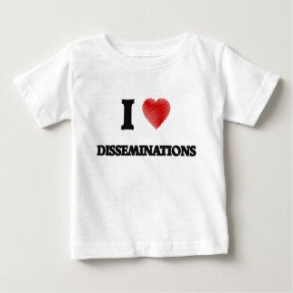 I love Disseminations Baby T-Shirt