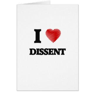 I love Dissent Card