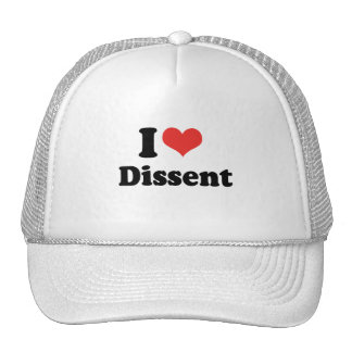 I LOVE DISSENT - png Hat