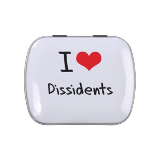 I Love Dissidents Jelly Belly Candy Tin