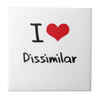 I Love Dissimilar Ceramic Tile