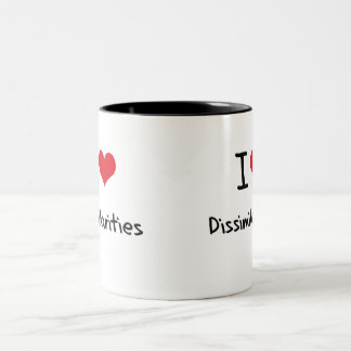 I Love Dissimilarities Coffee Mug