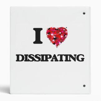 I love Dissipating Binders