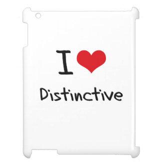 I Love Distinctive iPad Cases