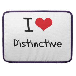 I Love Distinctive MacBook Pro Sleeve