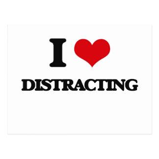 I love Distracting Postcard