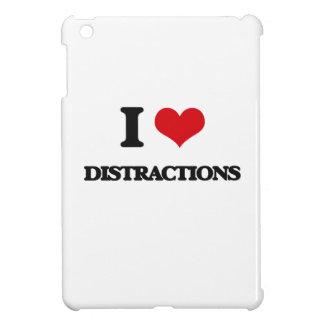 I love Distractions iPad Mini Cover