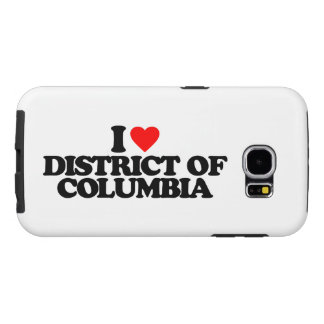 I LOVE DISTRICT OF COLUMBIA SAMSUNG GALAXY S6 CASE