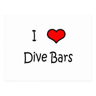 I Love Dive Bars Postcard