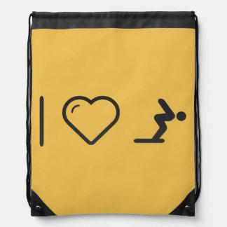 I Love Diver Positions Backpack