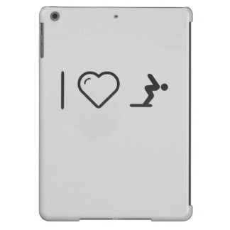 I Love Diver Positions Case For iPad Air