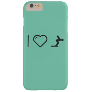 I Love Diver Positions Barely There iPhone 6 Plus Case