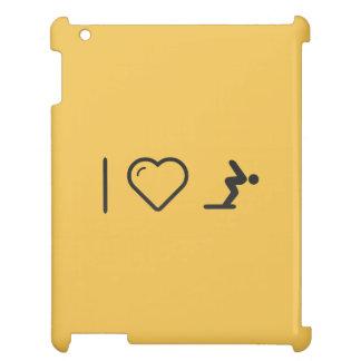 I Love Diver Positions iPad Case