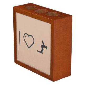 I Love Diver Positions Pencil/Pen Holder