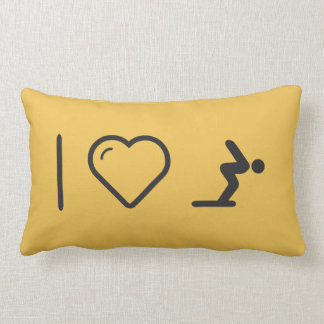 I Love Diver Positions Pillow