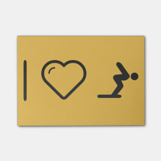I Love Diver Positions Post-it® Notes