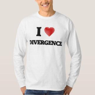 I love Divergence T-Shirt