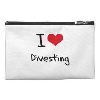 I Love Divesting Travel Accessories Bag