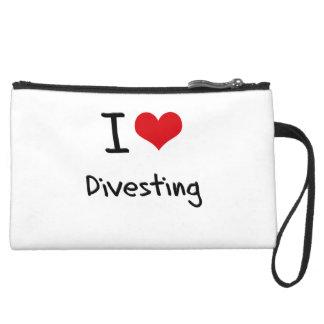 I Love Divesting Wristlet