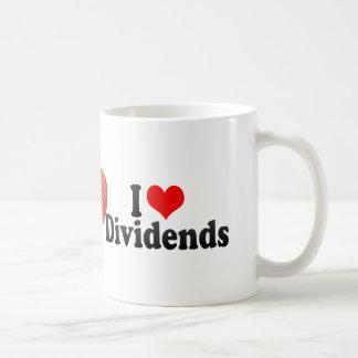 I Love Dividends Coffee Mug