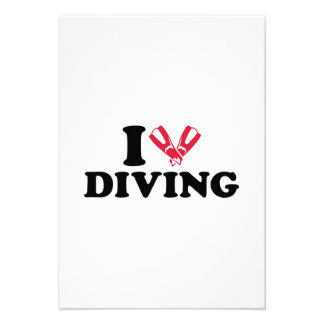 I love Diving flippers Announcement