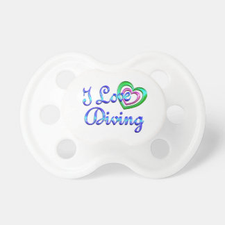 I Love Diving Pacifier